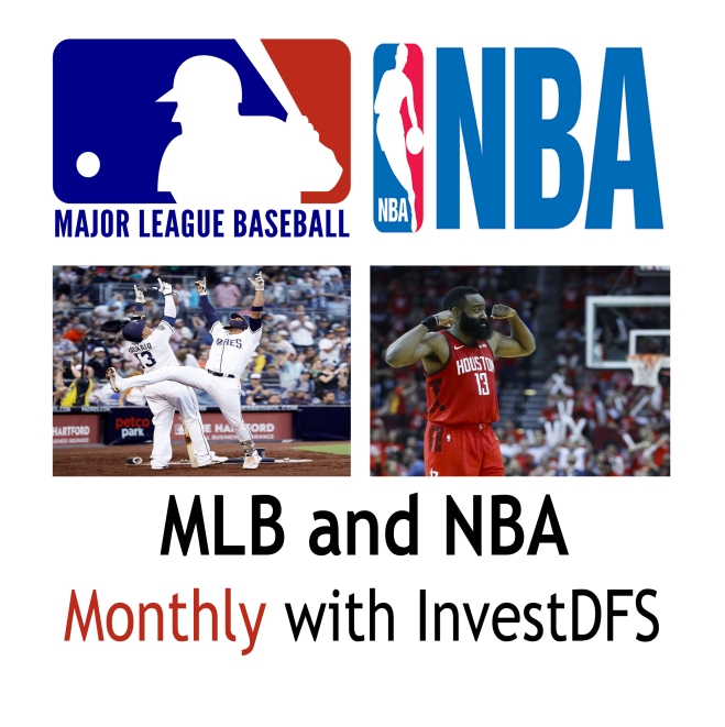 MLB and NBA 2020 Monthly