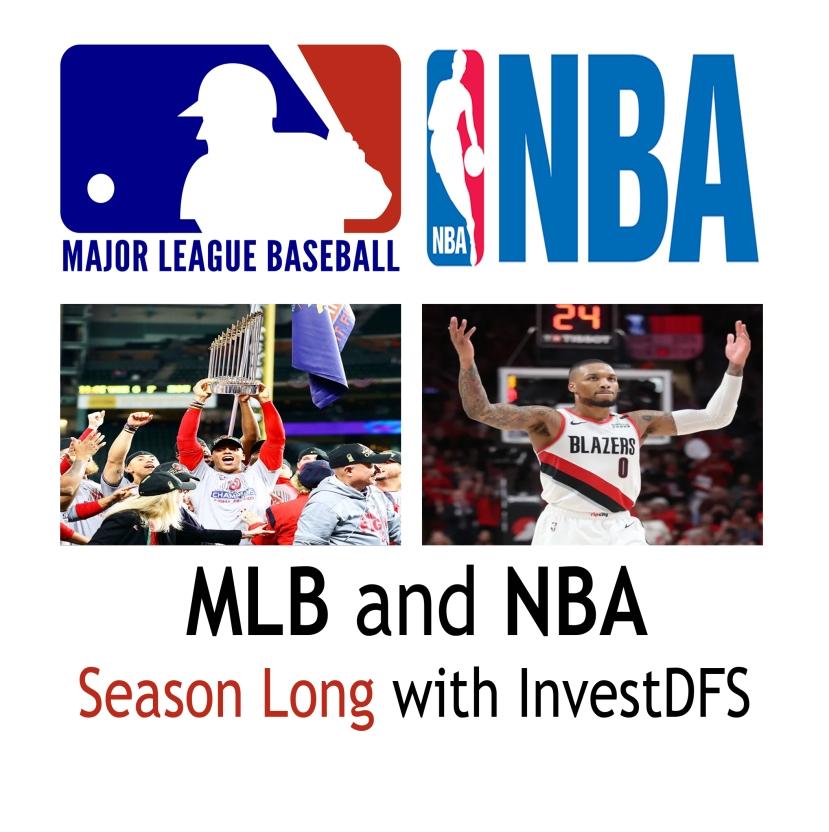 MLB and NBA 2020 Season Long