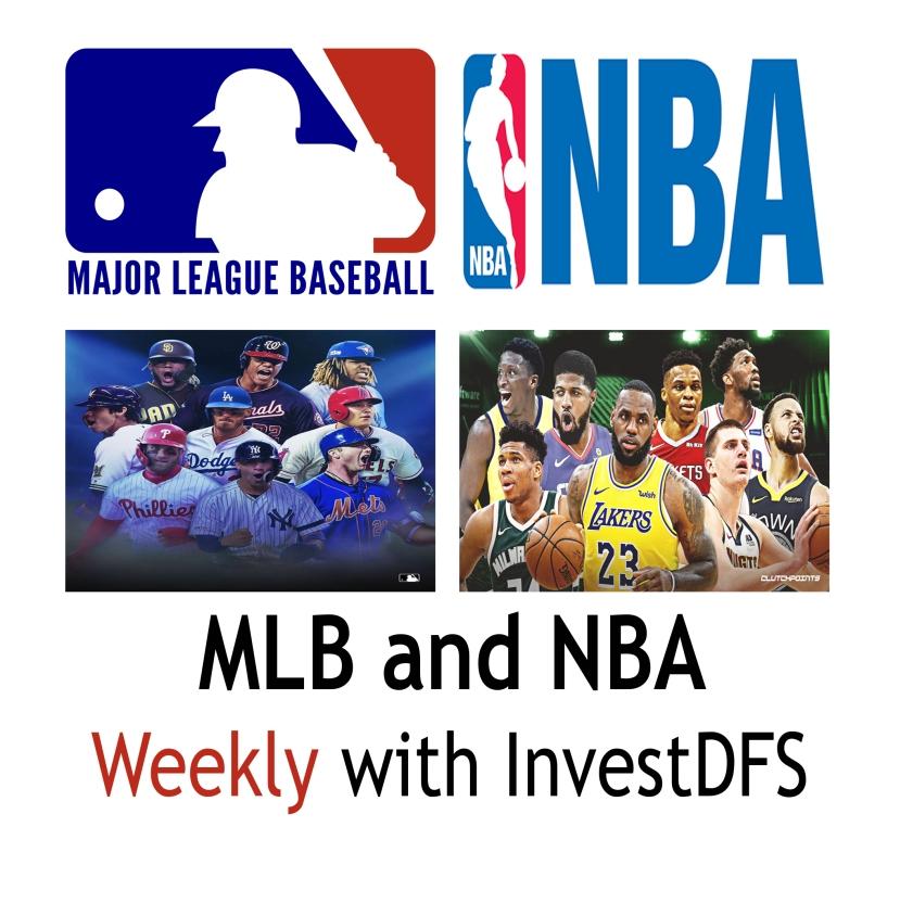 MLB and NBA 2020 Weekly